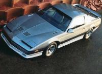 Trans Am в 1980-е годы по-прежнему оставался топовой версией Firebird и самым мощным ее вариантом