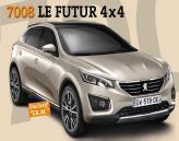 Peugeot представят большой вседорожник