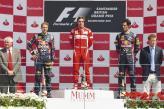 Подиум Гран-при Великобритании