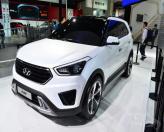 Hyundai может вывести кроссовер ix25 на рынки Европы и США