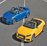 Audi TT Roadster: кабриолет к весне