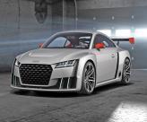 Audi TT Clubsport Turbo: пионер электрического турбонаддува
