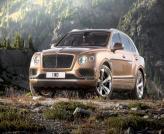 Вседорожник Bentley Bentayga презентуют во Франкфурте
