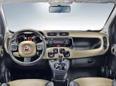 Передняя панель выполнена в стиле Fiat Panda 1980 года