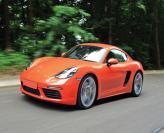 Porsche 718 Cayman: классическое имя, современные двигатели