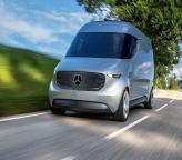 Mercedes-Benz Vision Van: курьерская доставка на автопилоте