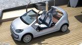 Volkswagen Up azzura