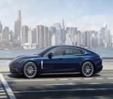 Новый Porsche Panamera удлинили