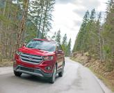 Ford Edge, Jeep Grand Cherokee и Volkswagen Touareg: разные школы вседорожников
