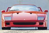 Купе создали к 40-летию Ferrari, что и отобразилось в его названии
