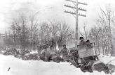Непривычно снежная зима в США в 1908 году помешала автопробегу Нью-Йорк – Париж преодолеть Аляску