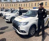 Полиция получила гибриды Mitsubishi Outlander