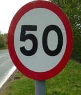 В Украине могут снизить лимит скорости в населенных пунктах до 50 км/ч