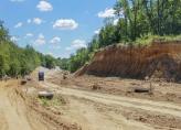 К аэропорту «Киев» строят новую подъездную дорогу