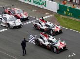 Toyota и Алонсо выиграли легендарную гонку в Ле-Мане