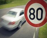 В Киеве разрешили скорость 80 км/ч на ряде дорог