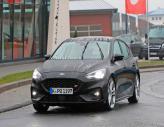 Ford Focus ST засняли на тестах