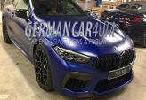 Первые фото BMW M8
