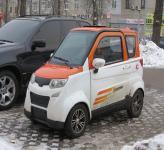 В Украине появился электромобиль по цене мотоцикла