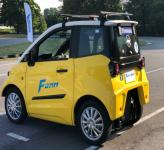 FOMM One EV: первый в мире электромобиль-амфибия
