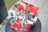 На одном валу турбины размещены ротор и компрессор