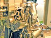 В турбине с изменяемой геометрией применены специальные заслонки, изменяющие размер и форму отверстия