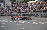 В Киеве болид Red Bull Racing разогнался до 274 км/ч