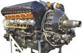 Авиационный компрессорный двигатель Rolls-Royce Merlin