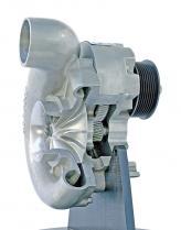 Центробежный нагнетатель по конструкции напоминает турбину