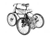 Тот самый трицикл De Dion-Bouton, на двигатель которого Роберт Бош в 1897 году впервые установил адаптированный вариант своего магнето