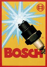 При дальнейшем усовершенствовании зажигания от магнето Бош изобрел деталь, без которой сегодня трудно представить автомобиль с двигателем внутреннего сгорания, – свечи зажигания (на фото – первая реклама свечей зажигания)