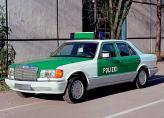 А вот, к примеру, в Германии характерной чертой внешности полицейских автомобилей является традиционная покраска в зеленый цвет