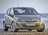Воздухозаборник в бампере Opel Corsa напоминает улыбку
