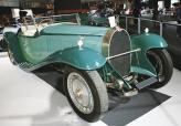 Кузов Bugatti Royale Этторе доверил разрабатывать своему сыну Жану, который сумел придать 6-метровому автомобилю фантастический облик, в котором самым удивительным образом переплелись динамизм и экспрессия
