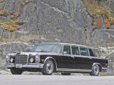 Лимузин Mercedes-Benz 600 Pullman 1963 года достигал 6,2 м в длину