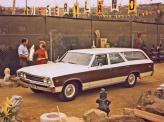 Универсал Chevrolet Chevelle Malibu 1967 года