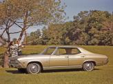 Второе поколение Chevrolet Chevelle Malibu показали в 1968 году
