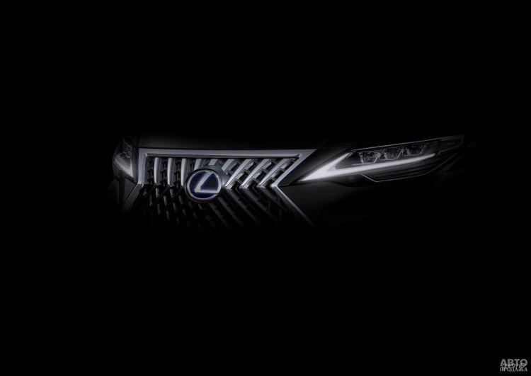 Lexus готовит свой первый мини-вэн