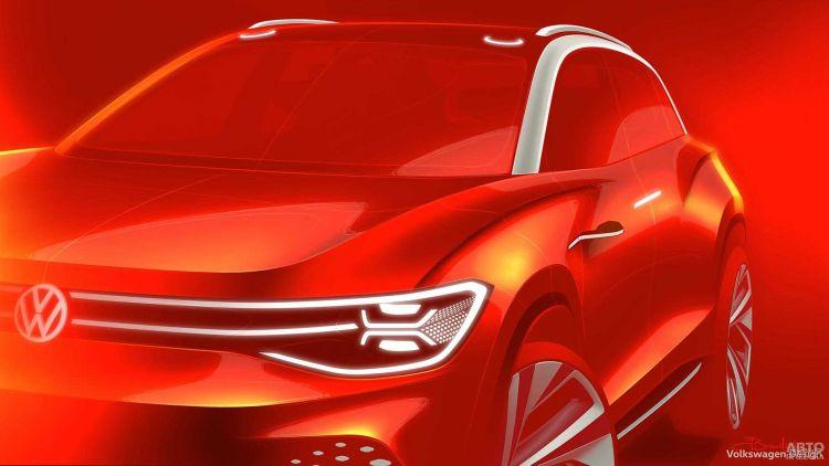 Volkswagen представит электрический вседорожник