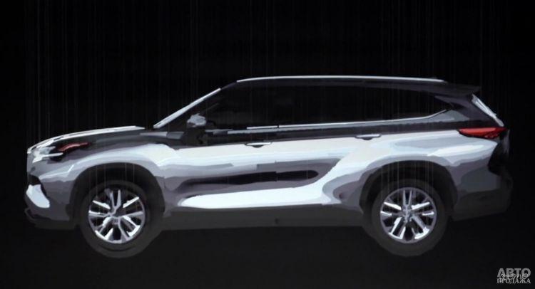 Первые фото нового Toyota Highlander
