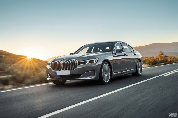 BMW 7 Series: освеженный флагман