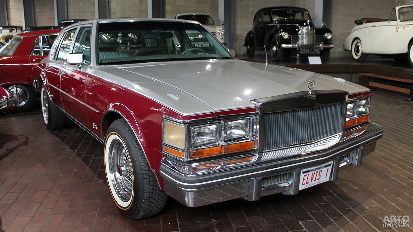 Cadillac Seville 1977 года