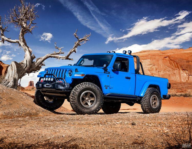 Jeep Gladiator: разнообразие версий