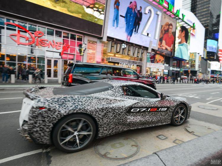 Новый Chevrolet Corvette покажут в июле