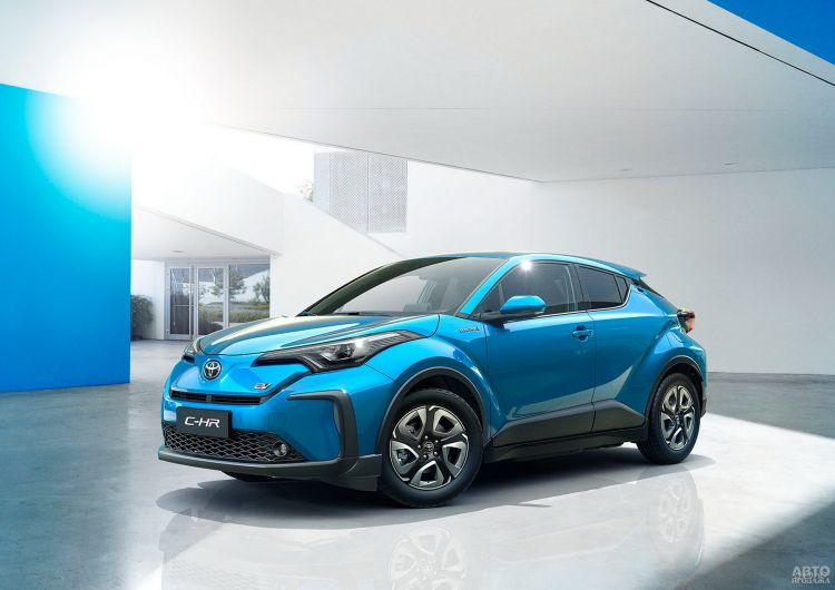 Toyota C-HR получит электрическую версию
