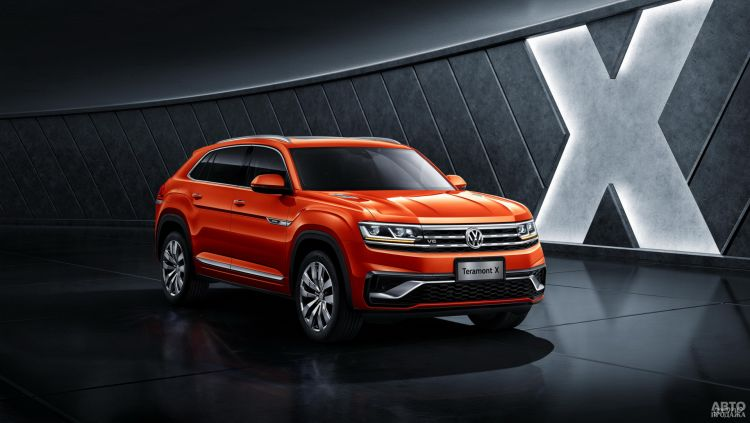 Volkswagen Atlas X: в новом формате