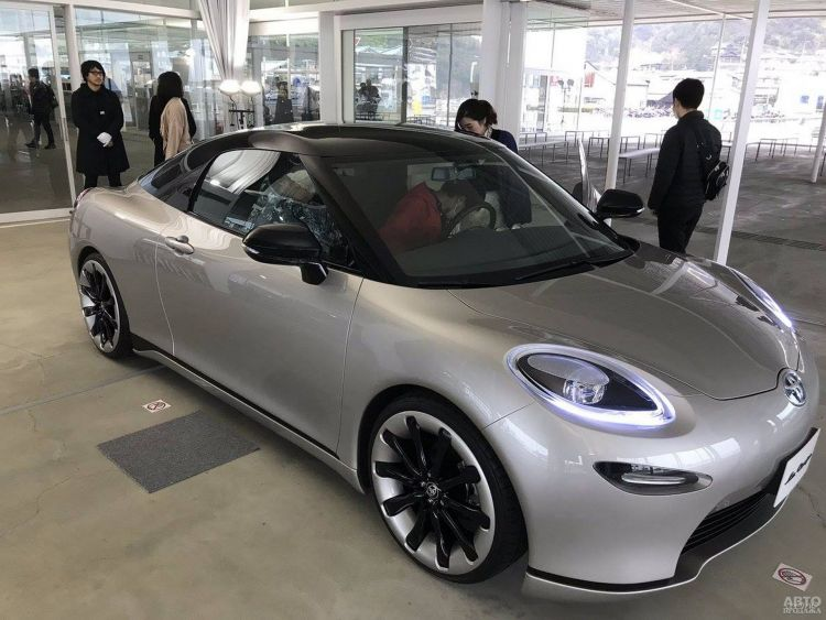 Toyota готовит компактное купе