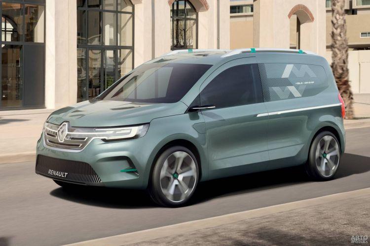 Представлен прототип нового Renault Kangoo