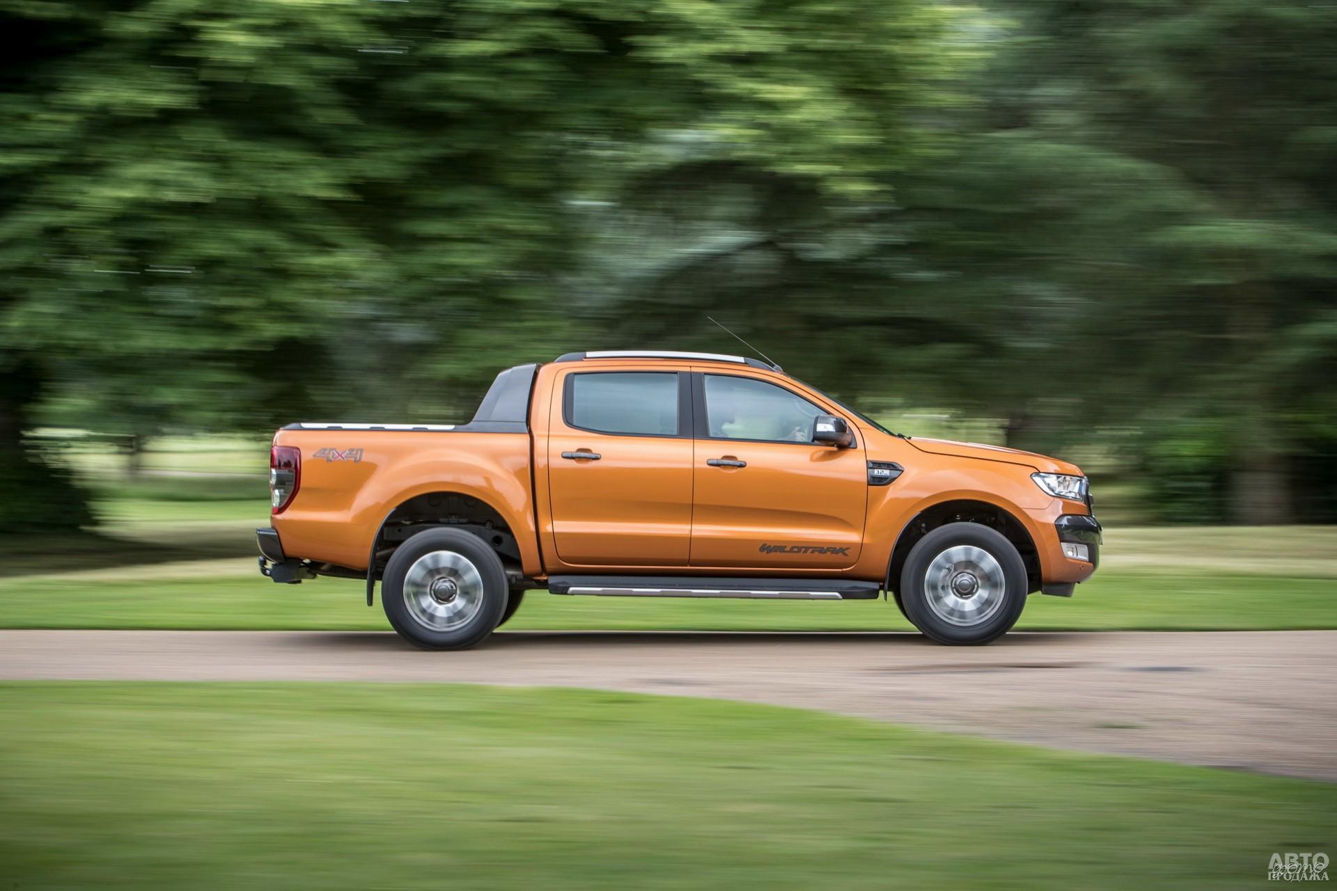 Ford самый крупный в этой тройке – 5359 мм