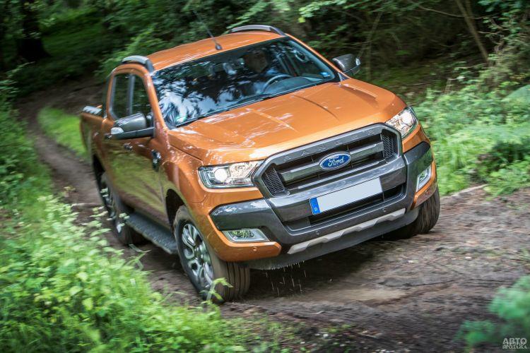 Ford Ranger, Mercedes-Benz X-Class и Volkswagen Amarok: пикапы с претензией на премиум